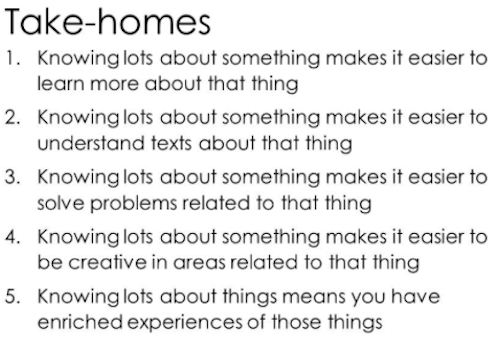 EducationFest 2018 Slides Takehomes