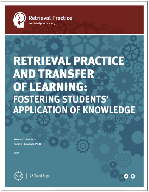 How To Use Retrieval Practice To Improve Learning