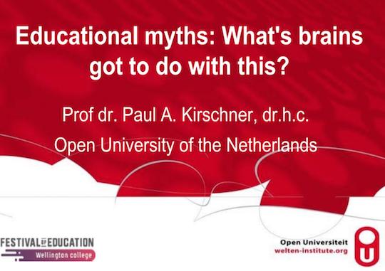 Educational Myths