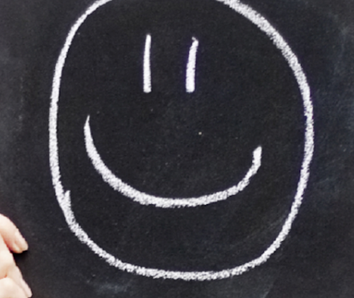 Smiley Blackboard