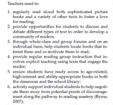 Eight Rules For Teachers